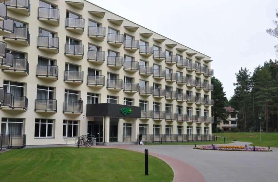 """Основное здание санатория """"Egle Plius"""""""