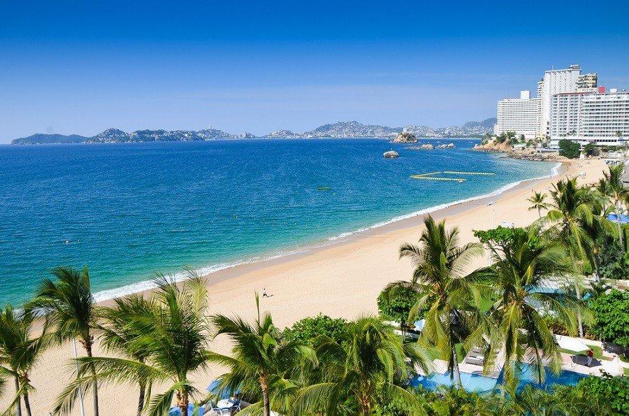 Пляж Акапулько