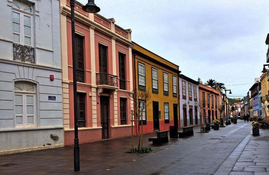 Улица Санта Круз после майского дождя