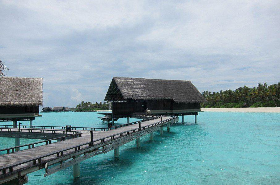 Пасмурный день на Мальдивах
