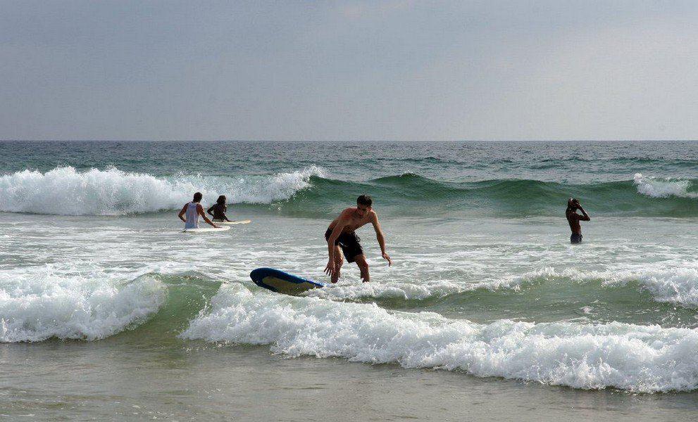 Серфинг в мае