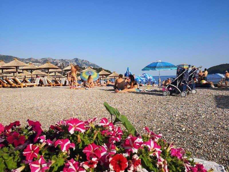 Пляж Будвы
