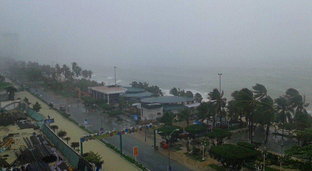 В августе большая вероятность тайфунов