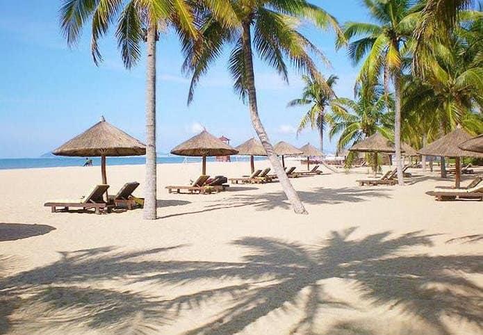 Пляжи Хайнань