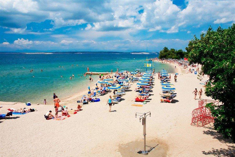 Пляж Цриквеницы
