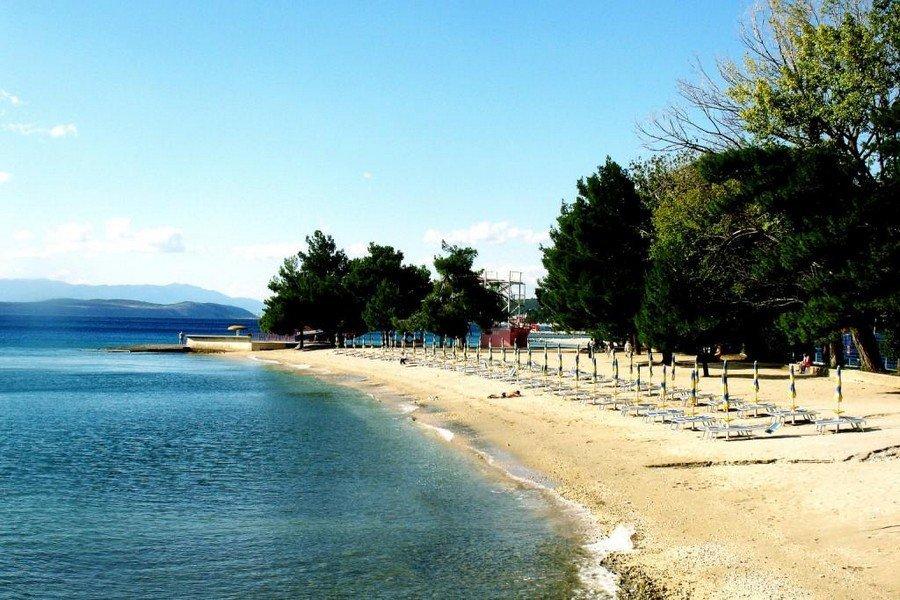 Пляж в Цриквенице