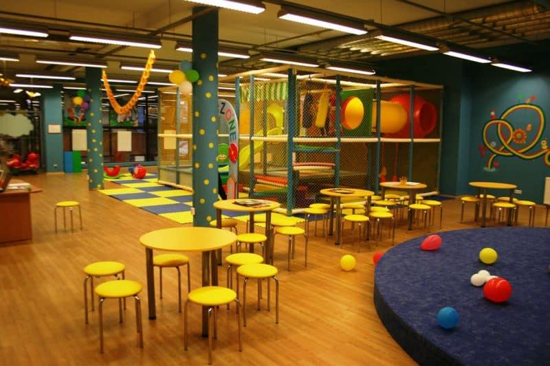 Игровая комната в Акрополисе Вильнюс