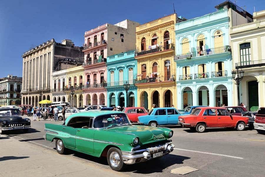 Улицы Кубы в конце декабря