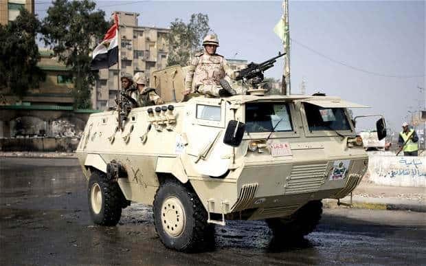 Египетские танки обеспечивают полную безопасность туристов в Египте