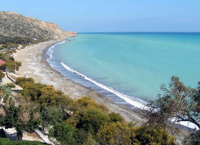 Пляж Pissouri Beach