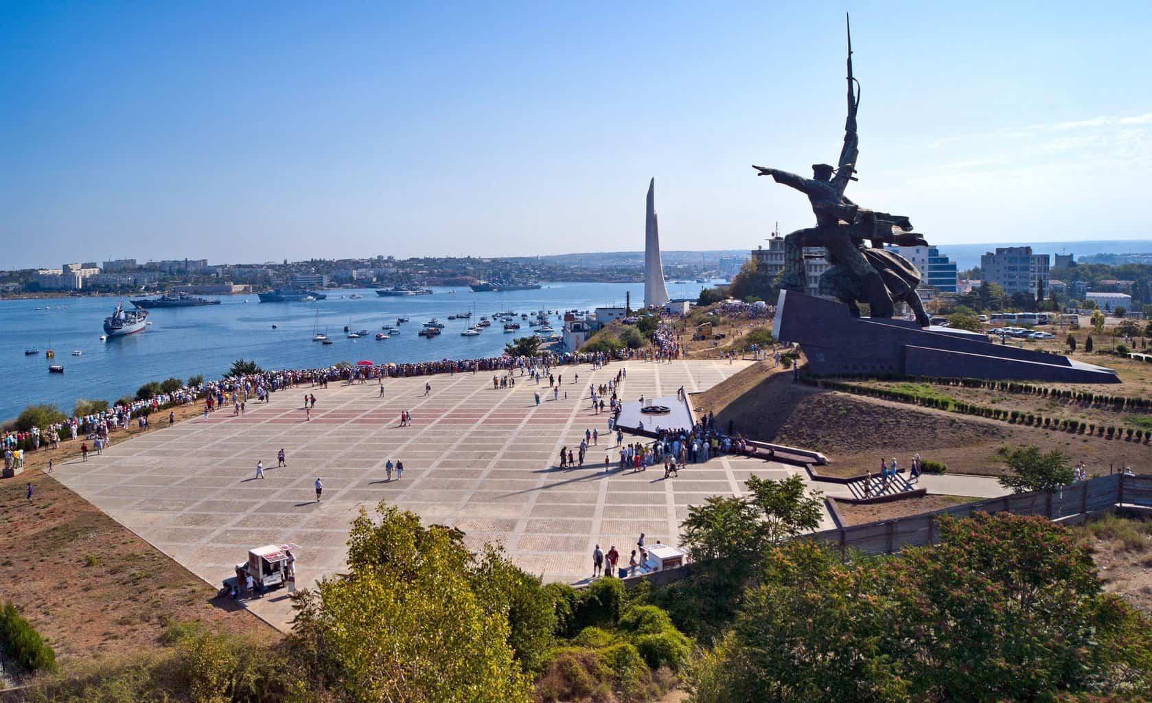 Площадь в Севастополе
