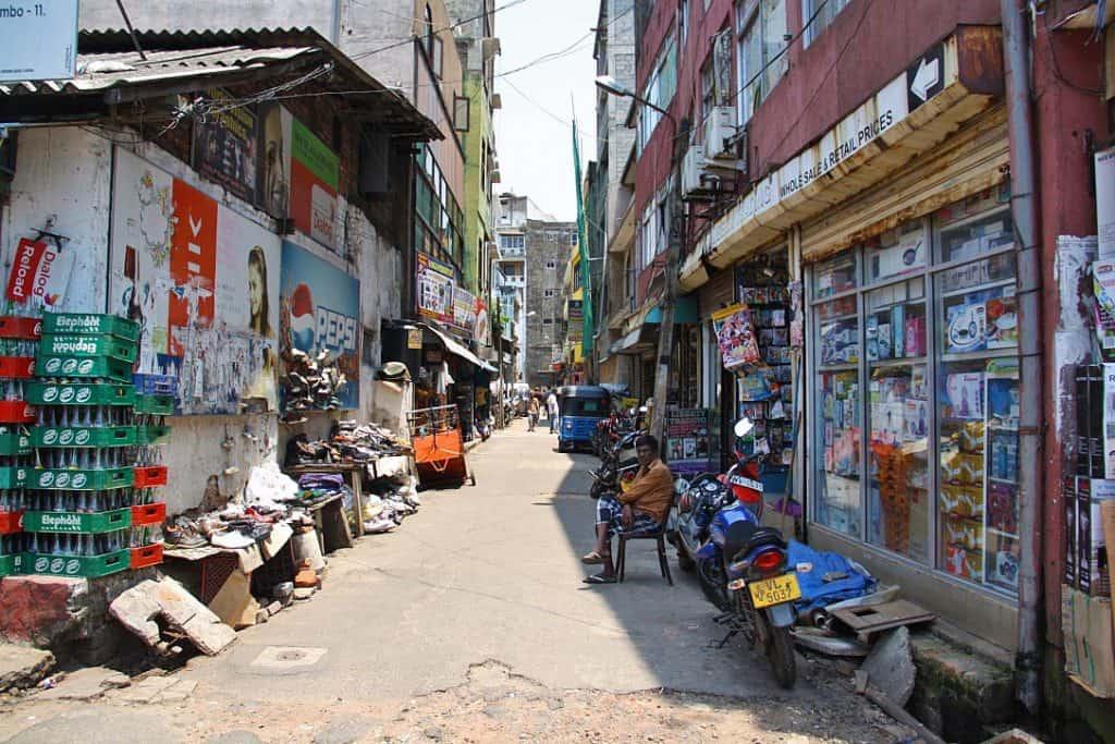 Улицы Коломбо - реальность