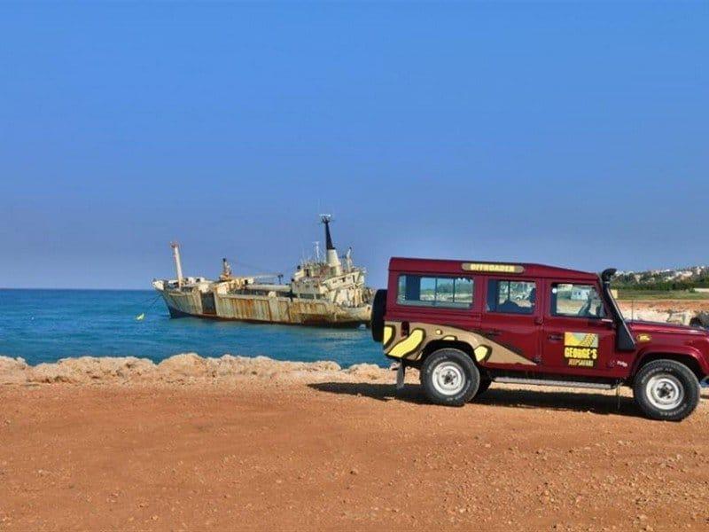 Джип-сафари Троодос на Кипре