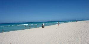 Широкие пляжи острова