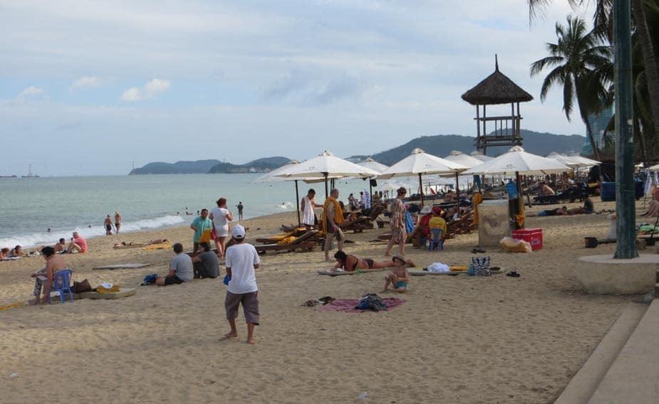 Пляж Нячанга в январе