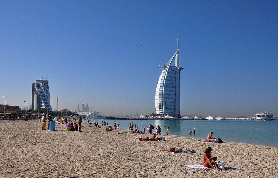Побережье Дубая