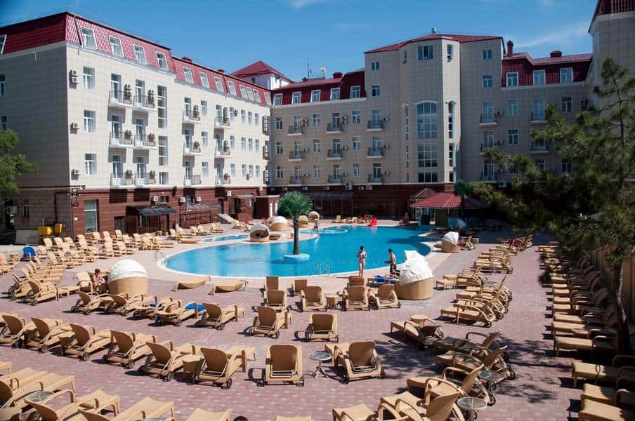 Украина Палас - один из лучших отелей в Евпатории