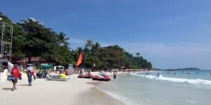 Пляжный отдых на Самуи, Чавенг