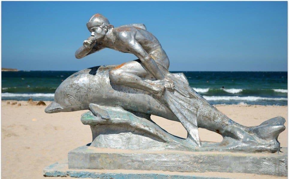 Ихтиандр на пляже
