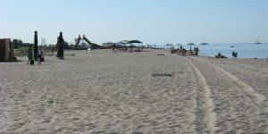Бархатистый песок