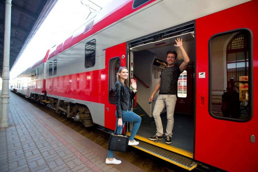 Поезд Вильнюс-Клайпеда