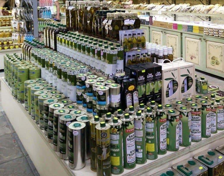Оливковое масло Кипра