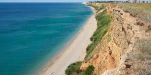 Вид на пляжи
