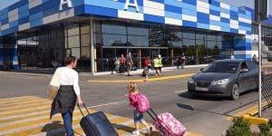 На территории аэропорта