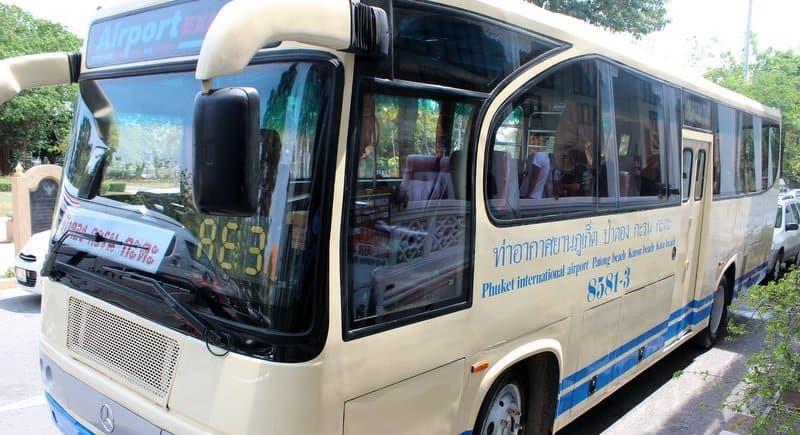 Автобус в Карон из аэропорта Пхукета