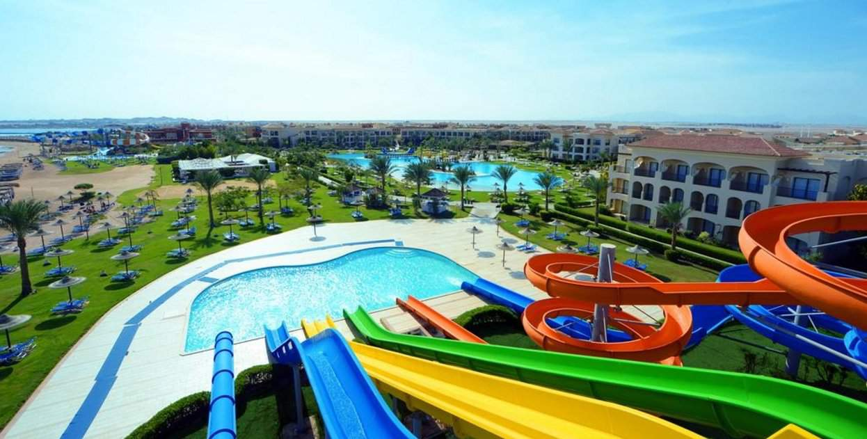 Jaz Aquamarine Resort - водные горки