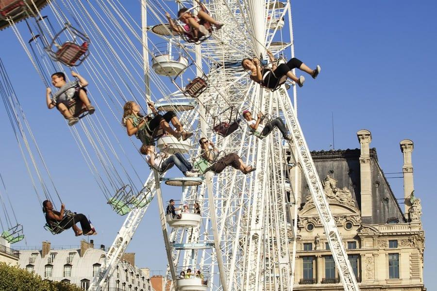 Майские праздники в Париже