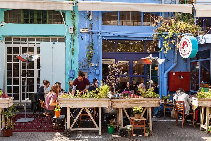 Уличные кафе Тель Авива