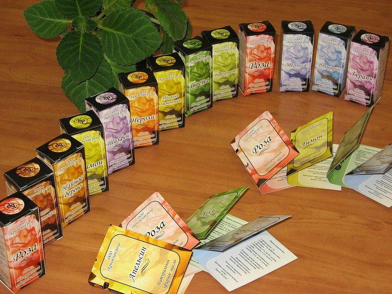 Крымские эфирные масла