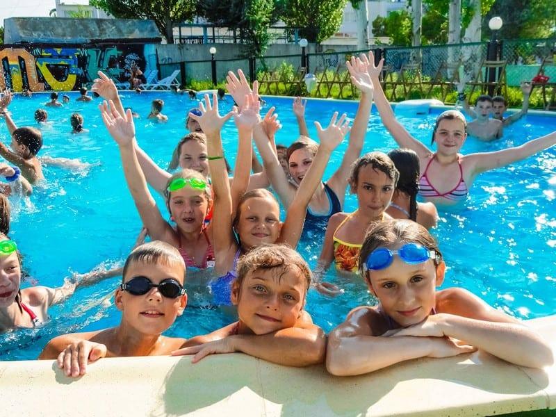 Детский лагерь в Крыму