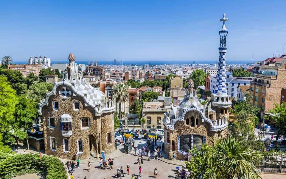 Парк Гуеля в Барселоне
