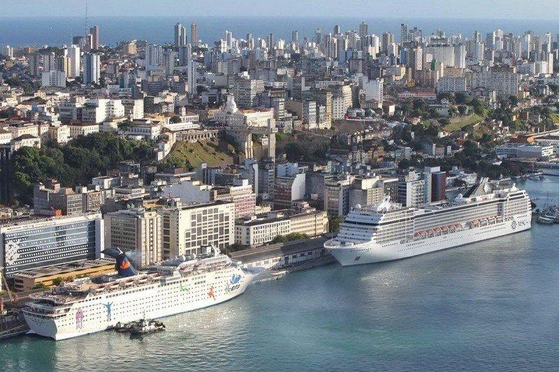 Круизный порт в Сальвадор-де-Байя