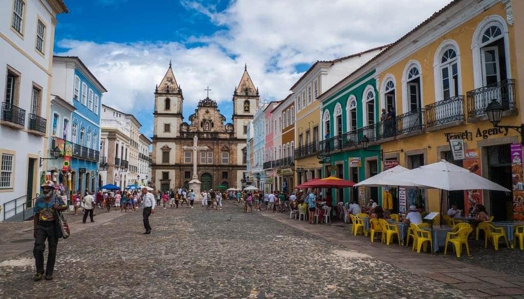 Улочки Сальвадора