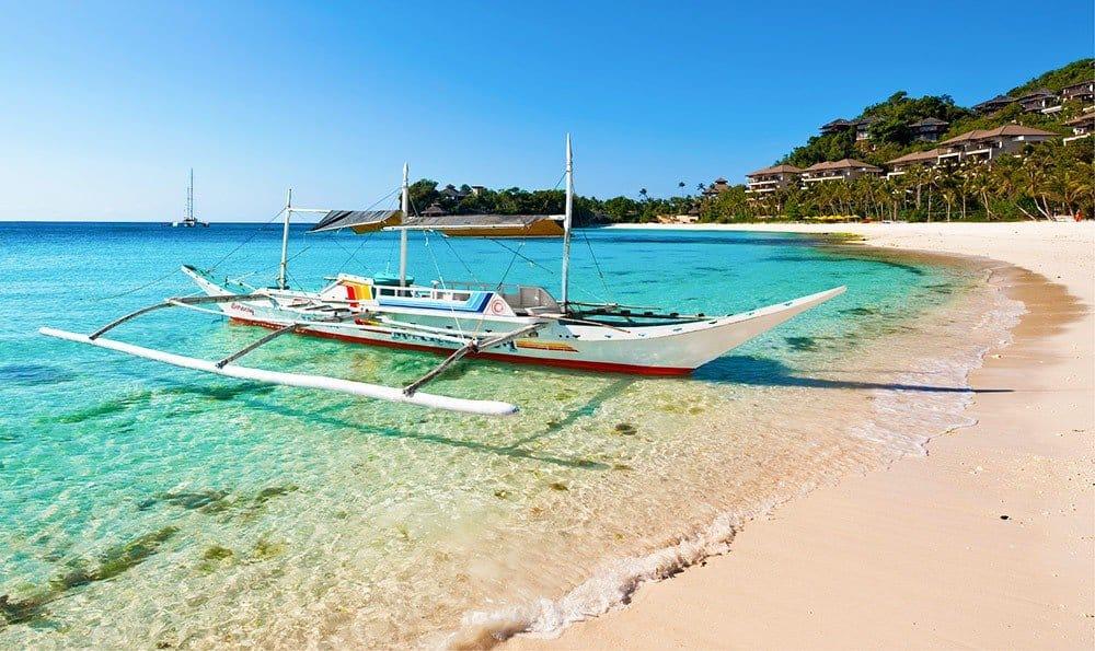 Пляжный рай в Боракай