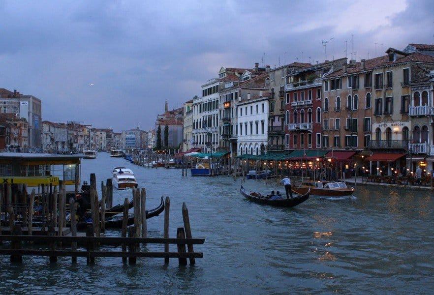 Пасмурный вечер в Венеции
