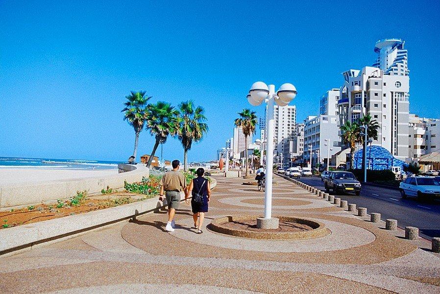 Набережная в Тель Авив
