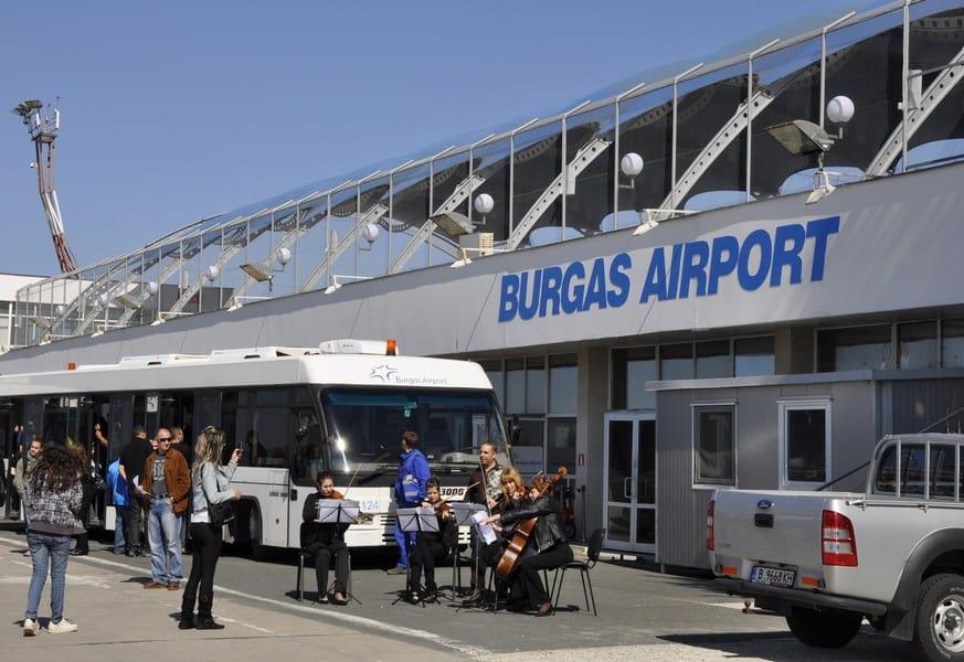 Трансфер из аэропорта Бургаса