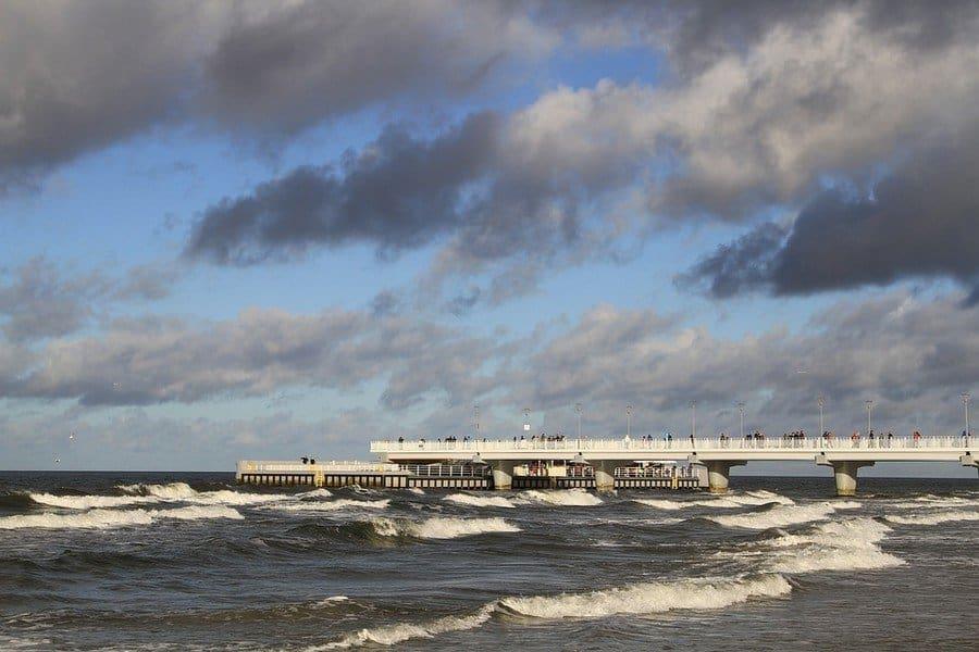 Балтийское море в начале лета