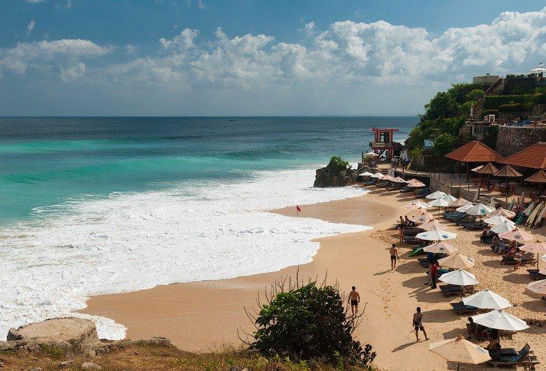 Пляж Дримлэнд на Бали