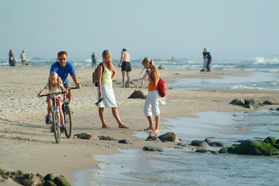 Побережье Балтиского моря в Паланге