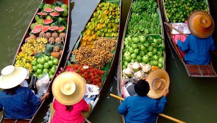 Сезоны фруктов в Таиланде