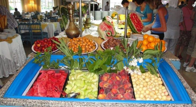 Сезоны фруктов в Тунисе