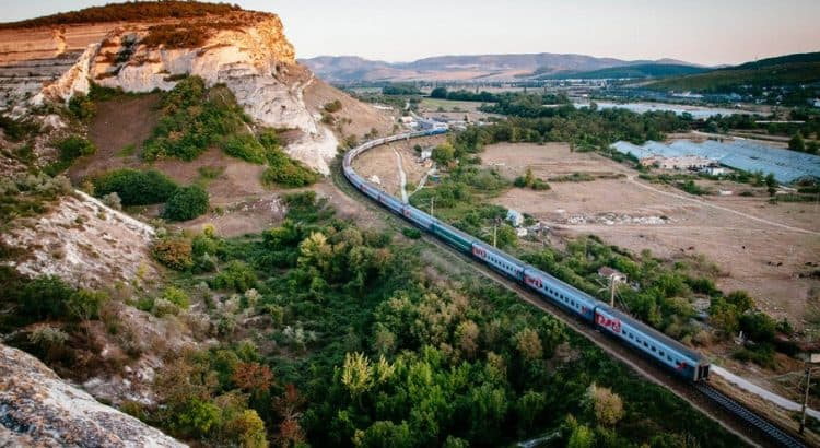 Как добраться на электричке по Крыму