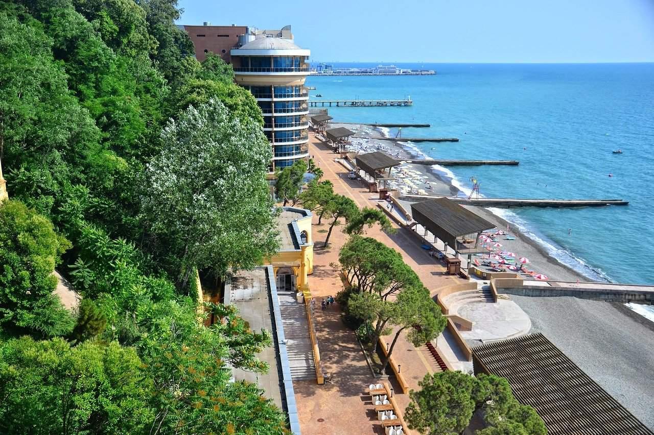 Гостиницы в Сочи на берегу моря