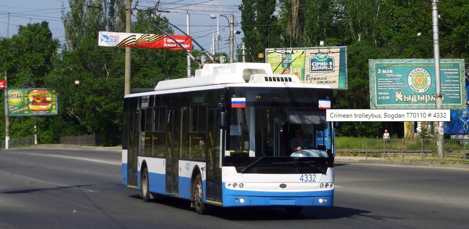 Троллейбус Симферополь-Алушта-Ялта