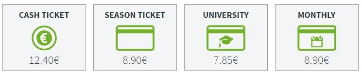 Стоимость билета из северного аэропорта до Адехе